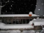 snow at 5pm